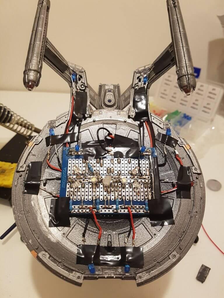 NX-01 Refit circuit board