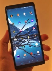 Modern smartphones are big and beautiful enough to play on