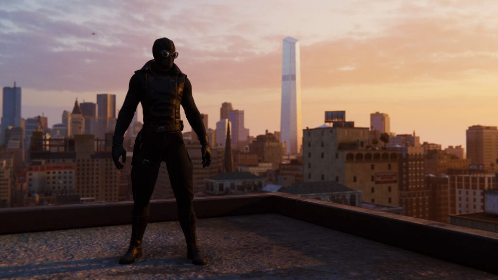 Sunset over Spidey New York