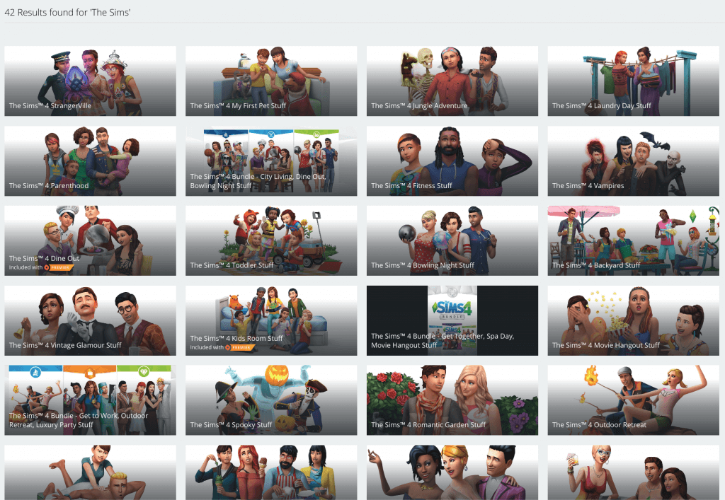 The Sims series is a really good way of tracking the game industry's adoption of monetisation strategies - it's more like a store than a game at this point.